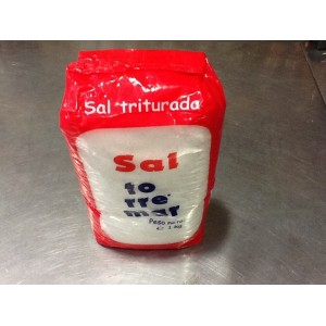 Sal triturada
