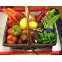Cestas de fruta y verdura